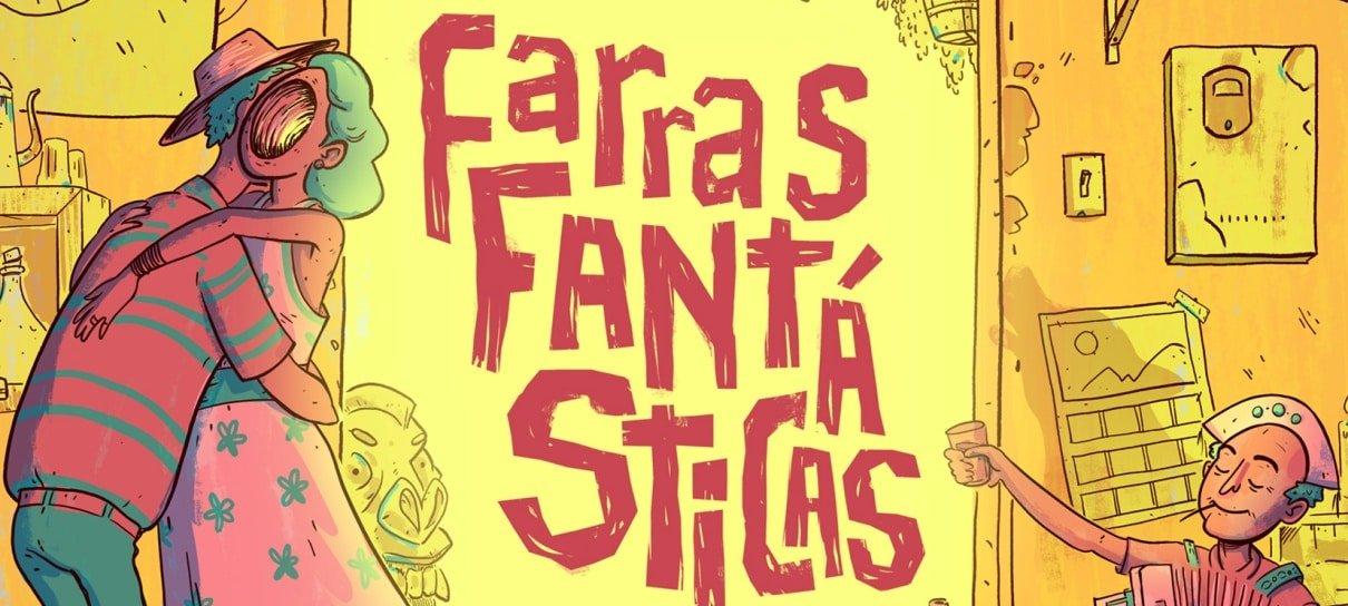 Farras Fantásticas, antologia com autores do Nordeste, reúne contos de ficção científica
