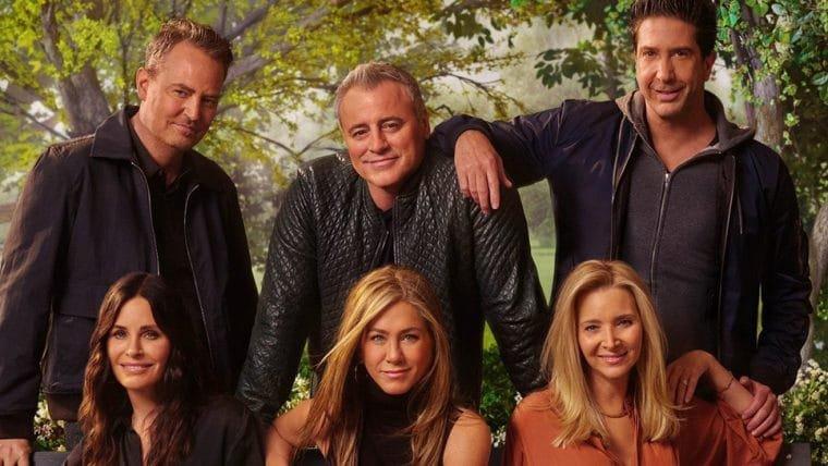 Elenco de Friends relembra momento hilário em cena inédita da reunião