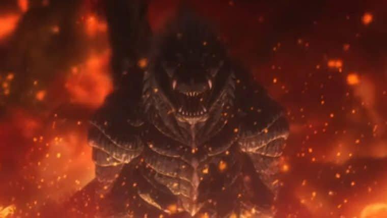 Godzilla Ponto Singular tem data de estreia na Netflix definida