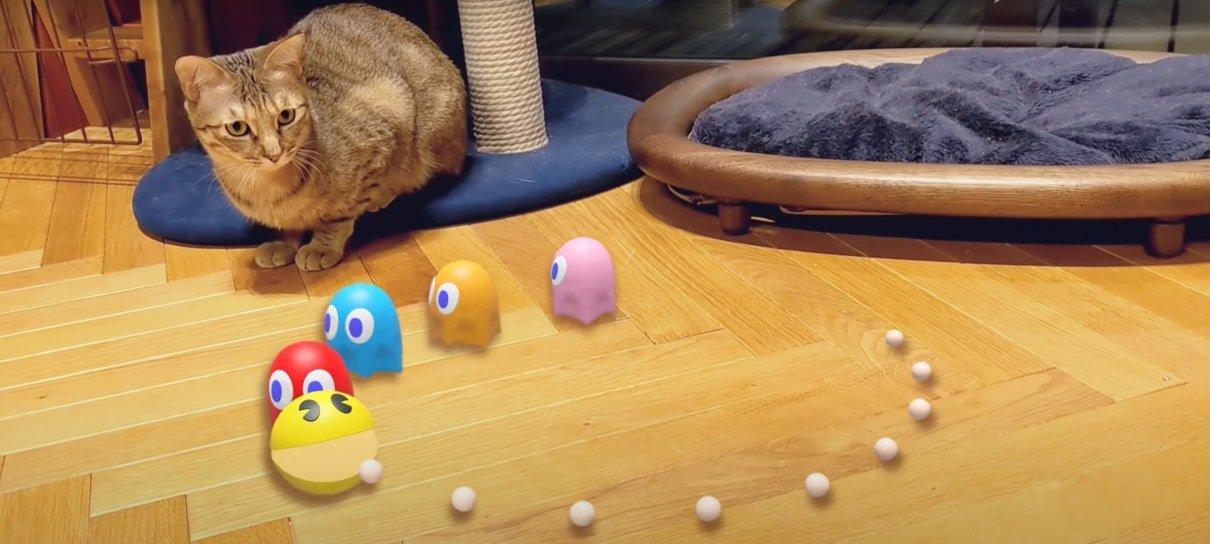 Google disponibiliza Pac-Man, Hello Kitty e outros personagens em realidade aumentada