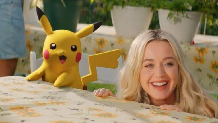 Katy Perry lança música e clipe para comemorar os 25 anos de Pokémon