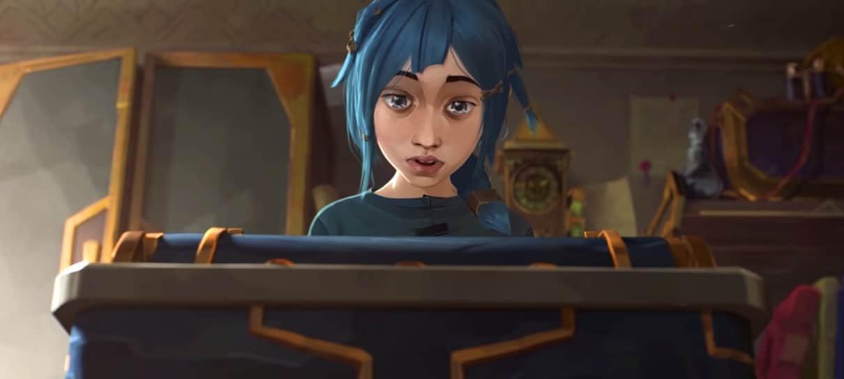 Arcane, animação de League of Legends, será distribuída pela Netflix