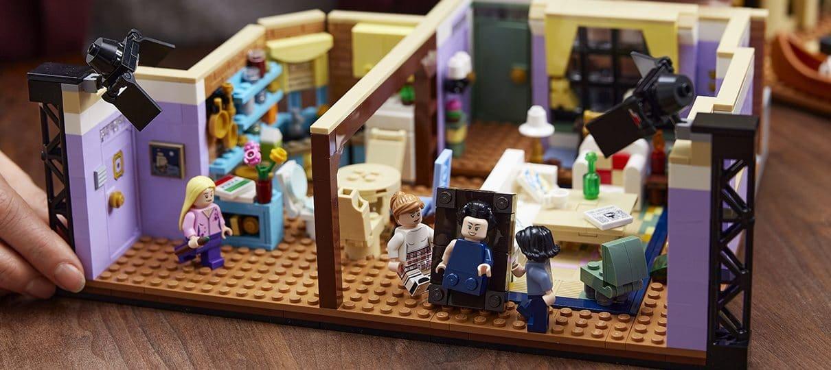 LEGO divulga mais fotos do conjunto dos apartamentos de Friends