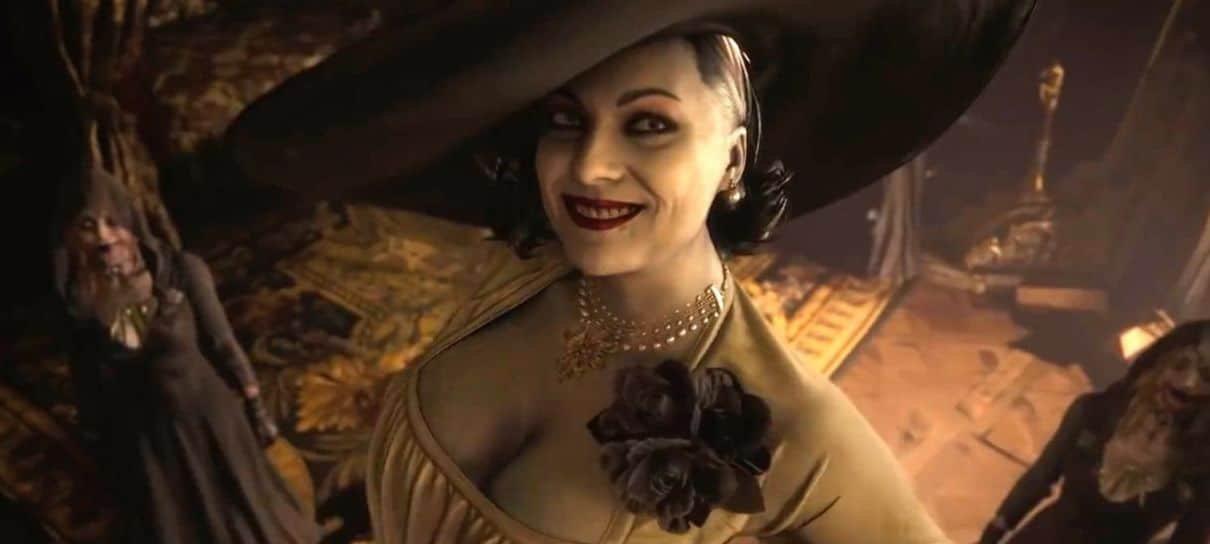 Mod coloca Lady Dimitrescu, de Resident Evil Village, como um chefe de Bloodborne