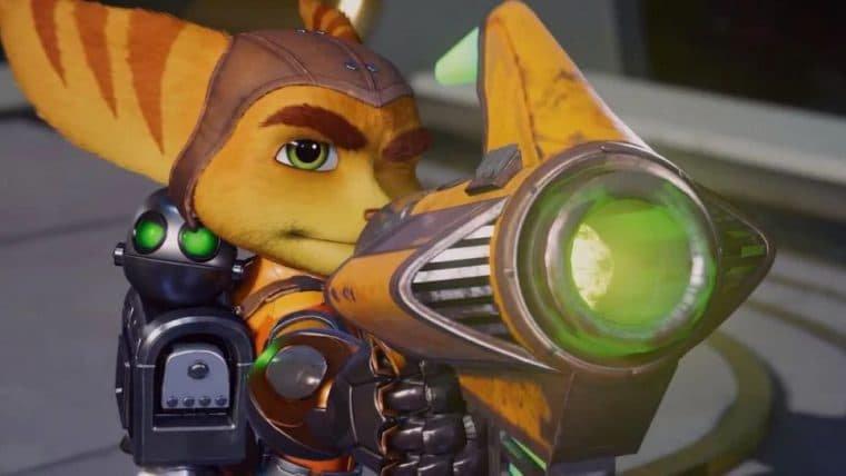 Novo trailer de Ratchet & Clank: Rift Apart destaca as armas do jogo