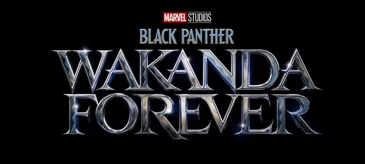 Pantera Negra 2 ganha título oficial em inglês e previsão de lançamento