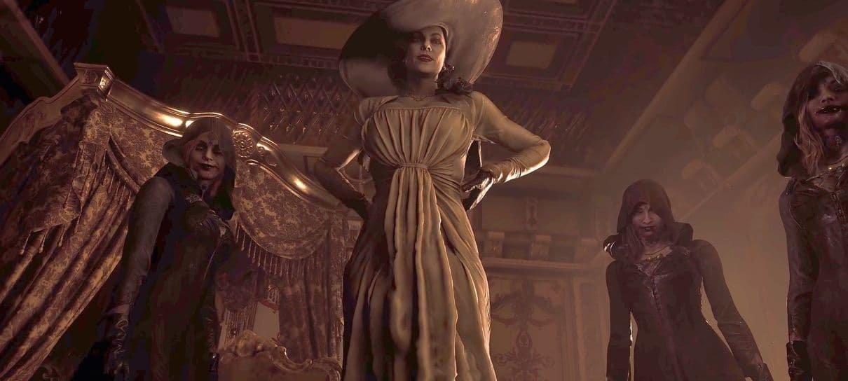Resident Evil Village ultrapassa 4 milhões de unidades distribuídas