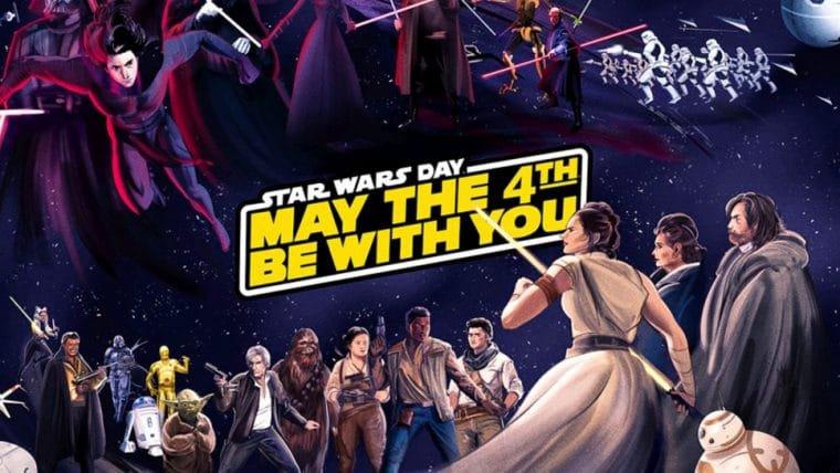 Disney faz galeria online com artes de fãs para comemorar o Star Wars Day