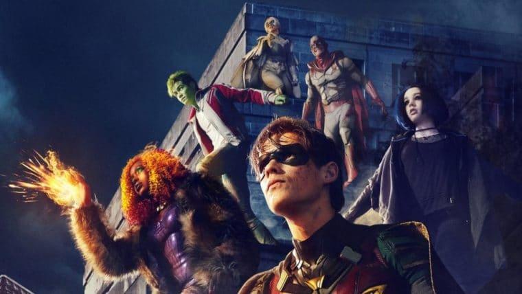 Terceira temporada de Titãs será lançada em agosto deste ano