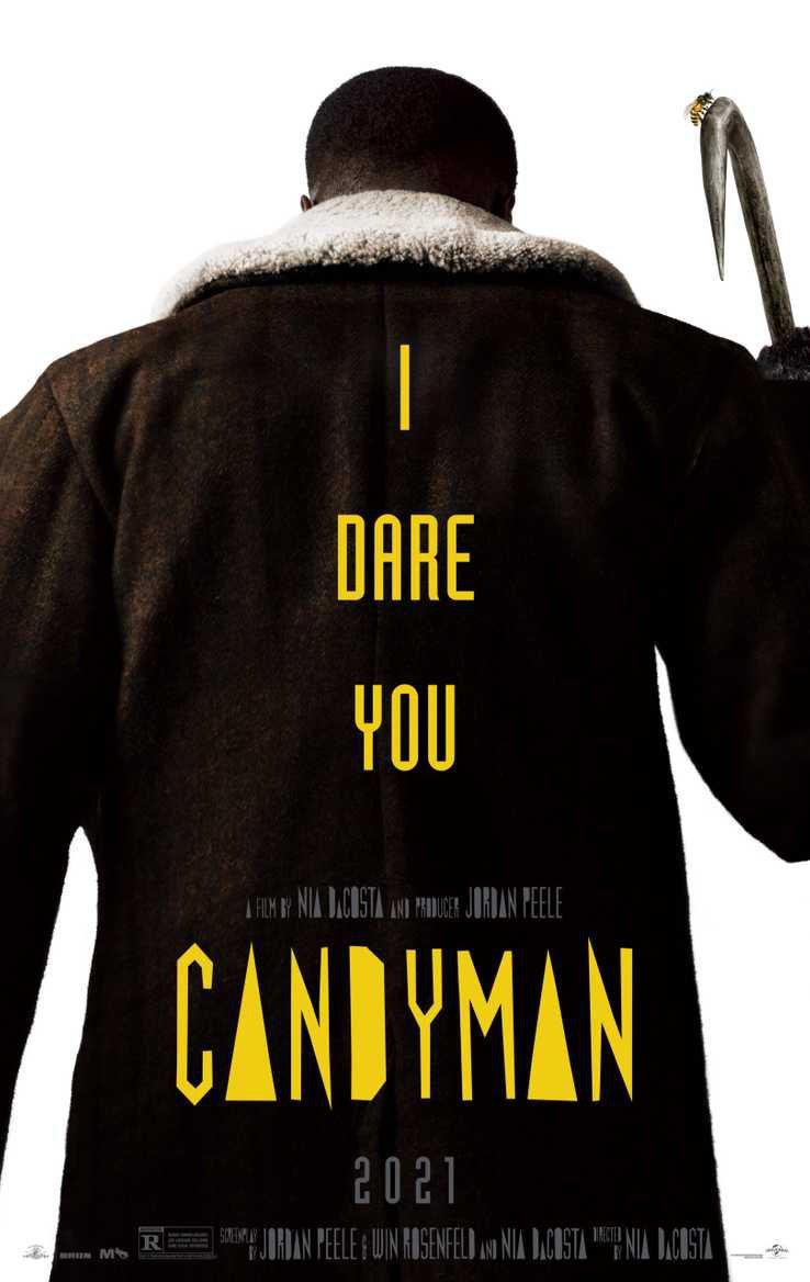Novo pôster de A Lenda de Candyman (Divulgação/Universal)