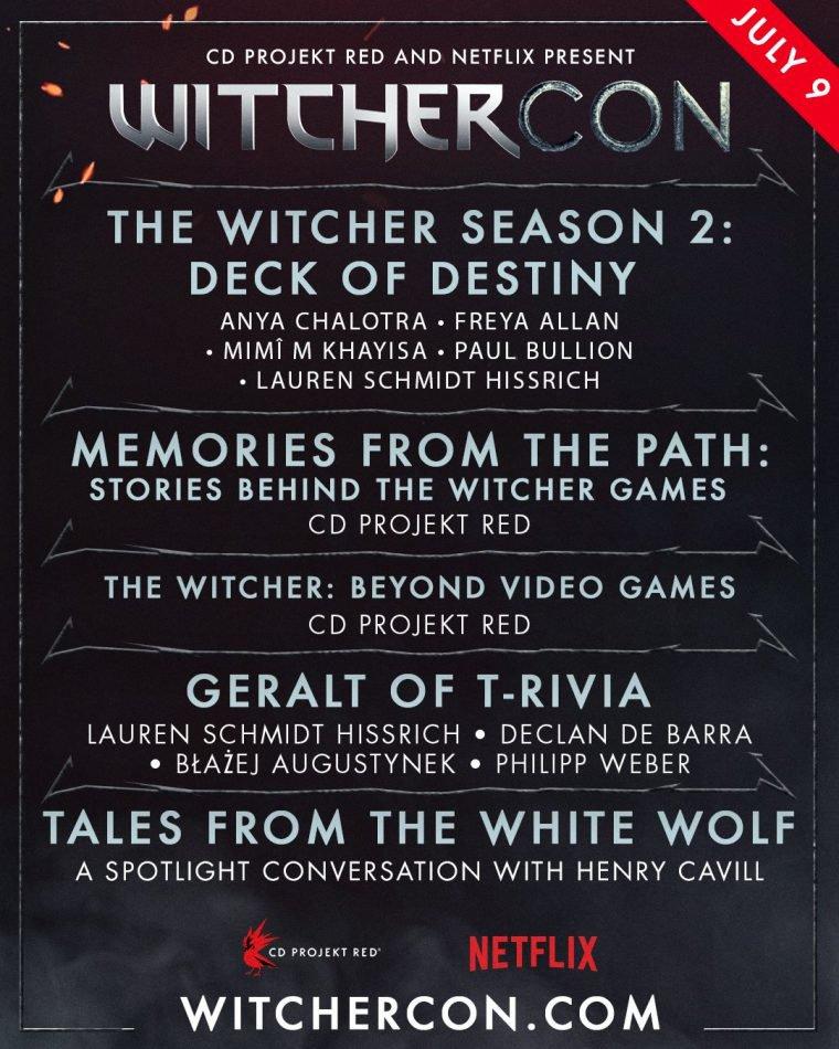 programação da WitcherCon