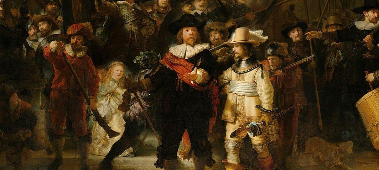 Quadro de Rembrandt é restaurado por inteligência artificial 300 anos após ser cortado
