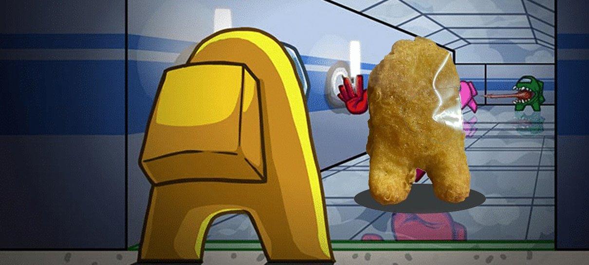 Alguém comprou um nugget em formato de Among Us por quase US$ 100 mil