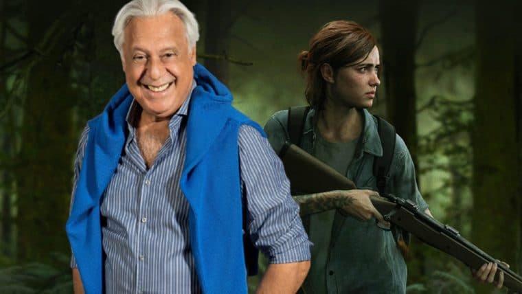 Antônio Fagundes aparece jogando The Last of Us Part II em vídeo