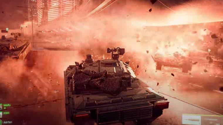 Battlefield 2042 ganha trailer de gameplay cheio de explosões