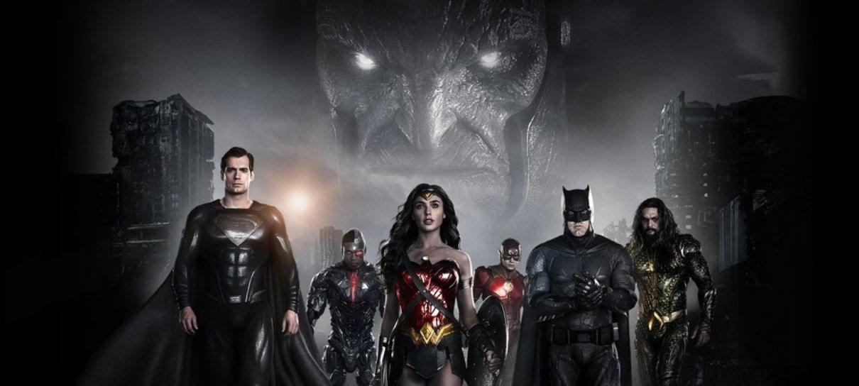 Blu-ray do Snyder Cut de Liga da Justiça chega ao Brasil em julho