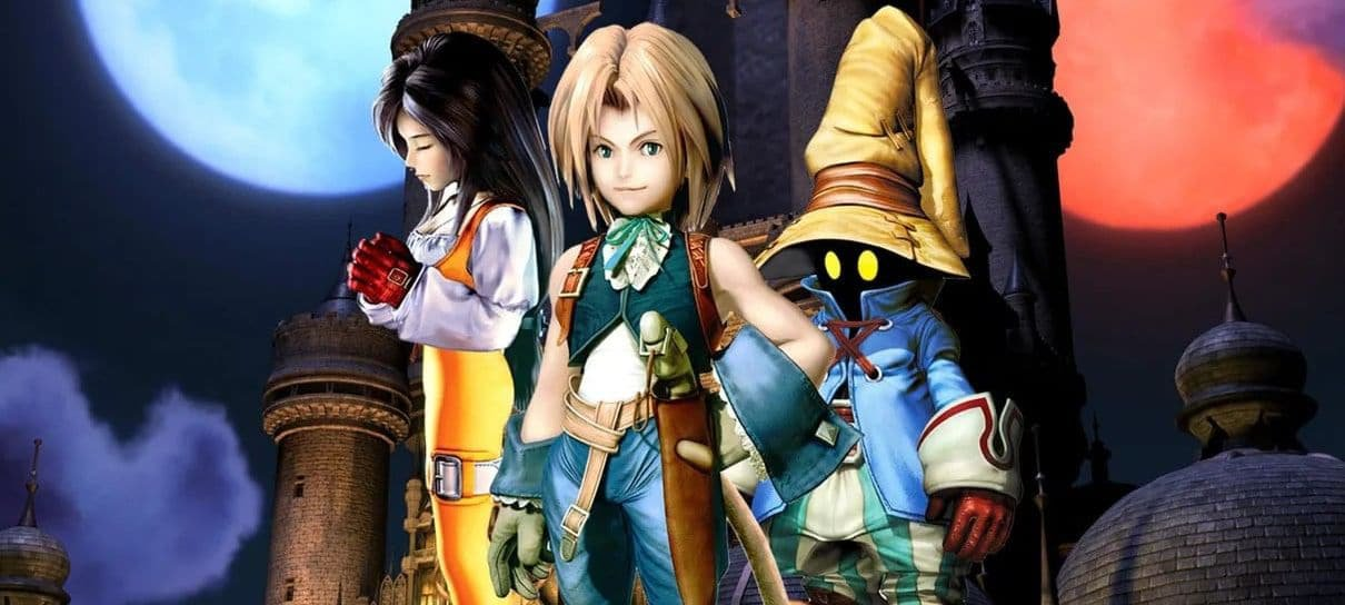 Criador de My Hero Academia publica arte de Final Fantasy IX