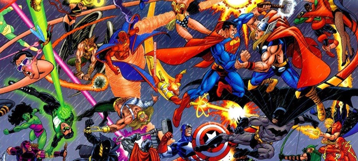 James Gunn revela ter sugerido um crossover entre Marvel e DC nos cinemas