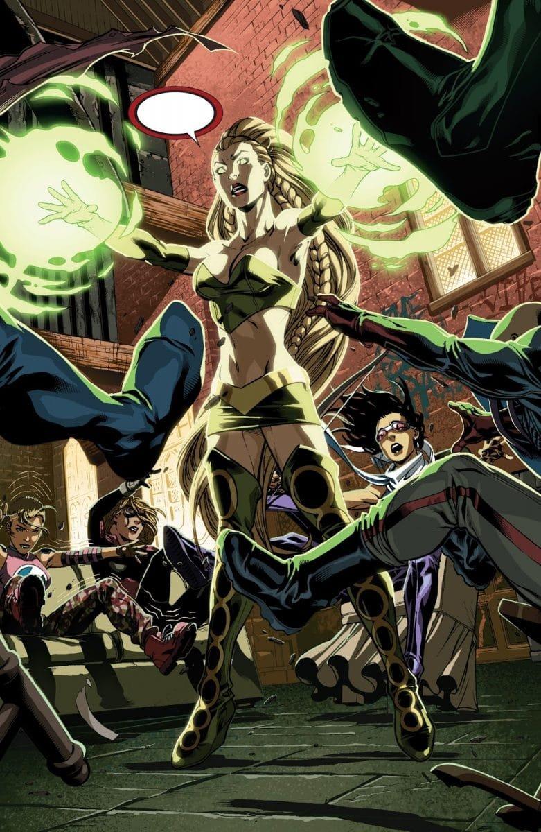Cena da HQ Dark Reign: Young Avengers (Divulgação/Marvel)