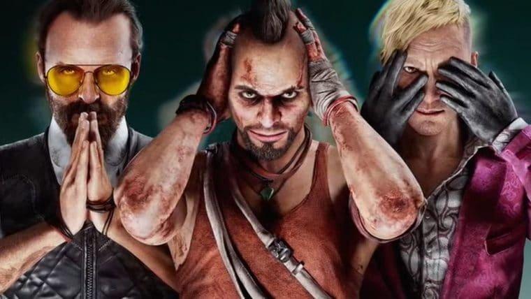 Far Cry 6 anuncia DLC com Vaas e outros vilões da franquia como protagonistas jogáveis