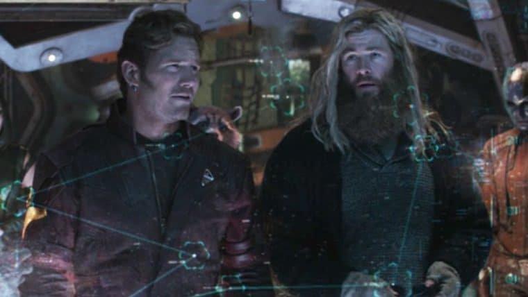 Foto dos bastidores de Thor 4 mostra encontro de Chris Hemsworth e Chris Pratt