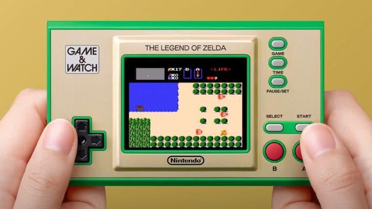Game & Watch: The Legend of Zelda é anunciado na E3 2021
