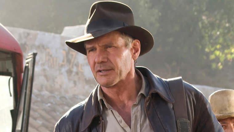 Harrison Ford se machuca durante gravações de Indiana Jones 5
