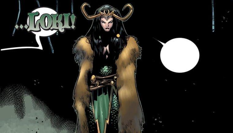 A revelação de Lady Loki na HQ do Thor (Divulgação/Marvel)