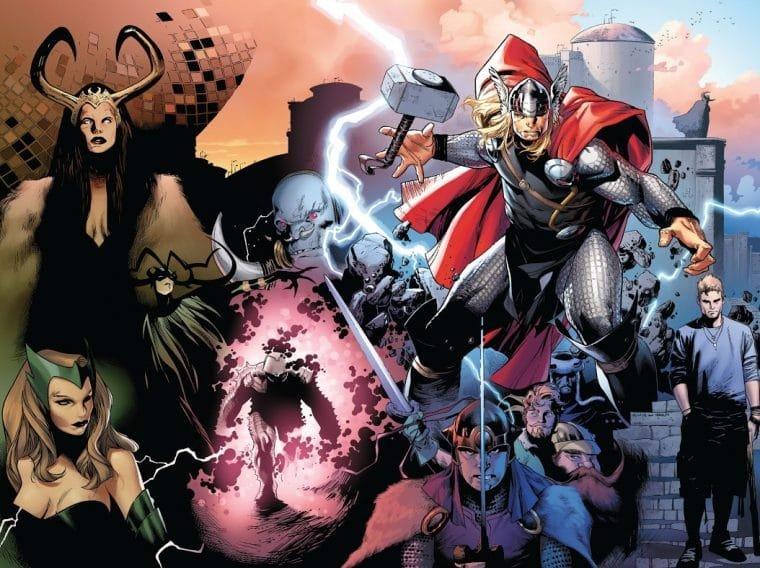 Capa da HQ Thor #600 (Divulgação/Marvel)