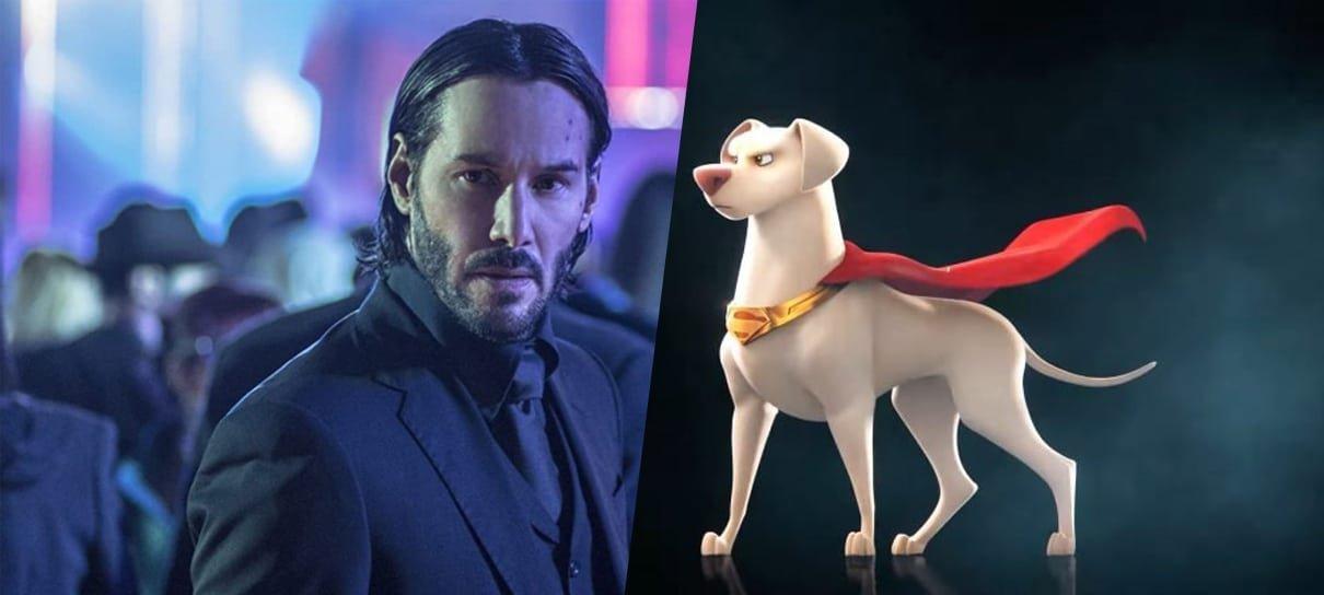 Keanu Reeves, Kevin Hart e mais se juntam ao elenco da animação Liga dos Super Pets