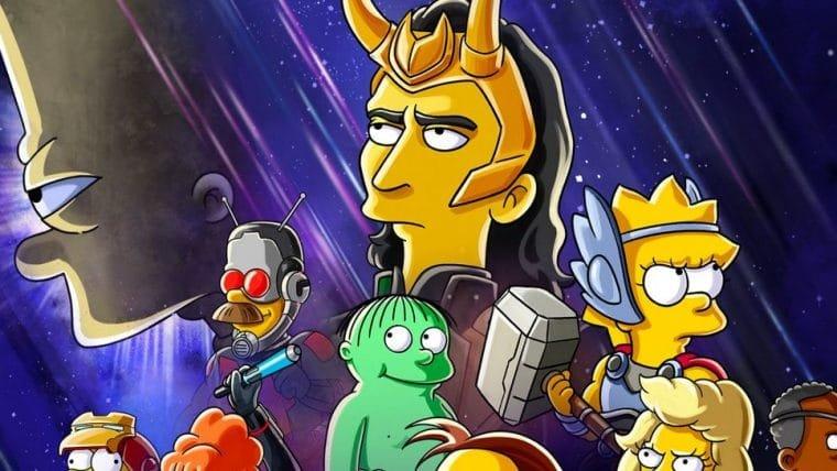 Loki encontrará Os Simpsons em curta animado do Disney Plus