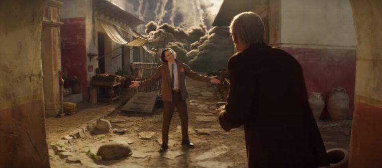 Tom Hiddleston e Owen Wilson no segundo episódio de Loki