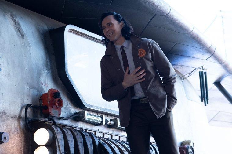 Tom Hiddleston no terceiro episódio de Loki (Divulgação/Marvel)