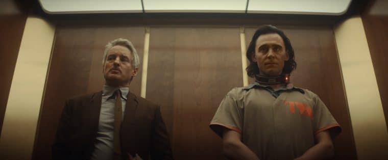 Owen Wilson e Tom Hiddleston em cena de Loki (Divulgação/Marvel)