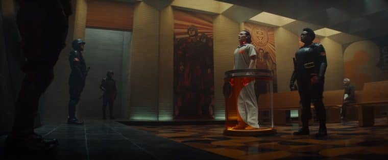 Tom Hiddleston e Wunmi Mosaku em cena de Loki (Divulgação/Marvel)