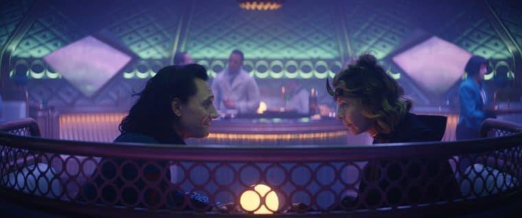 Tom Hiddleston e Sophia Di Martino em Loki (Divulgação/Marvel)