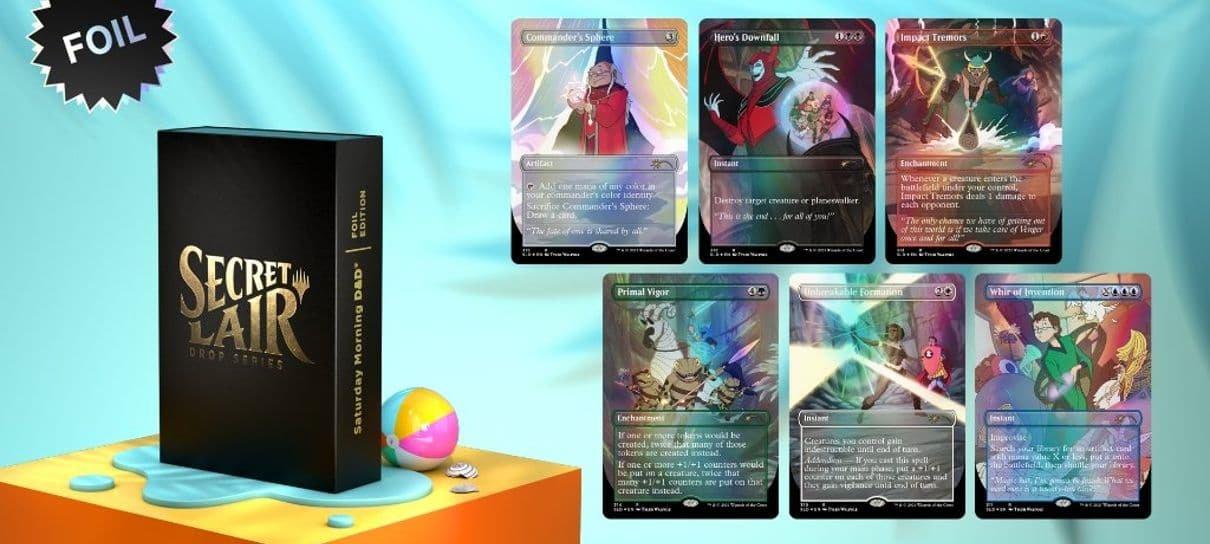 Magic: The Gathering terá cartas temáticas de Caverna do Dragão