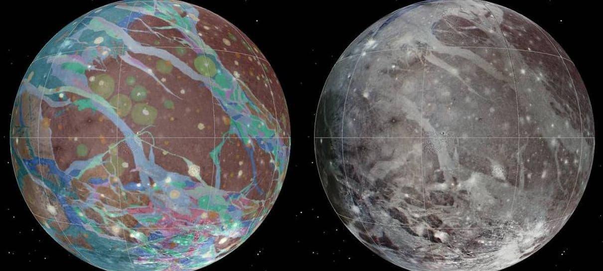 Sonda da NASA vai se aproximar da maior lua de Júpiter nesta segunda (7)