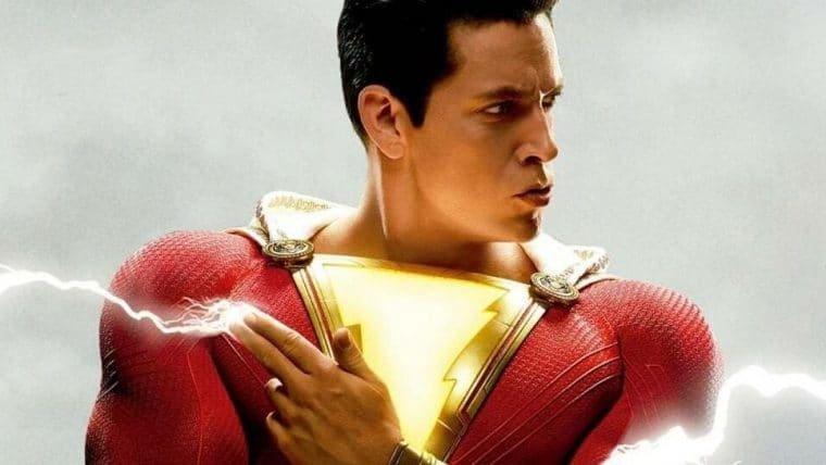 Novo traje de Shazam é revelado em fotos dos bastidores da sequência