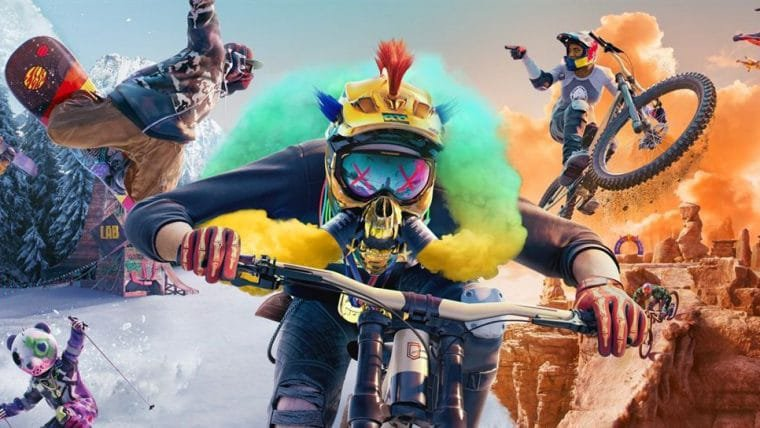 Riders Republic, jogo multiplayer de esportes radicais, ganha novo trailer