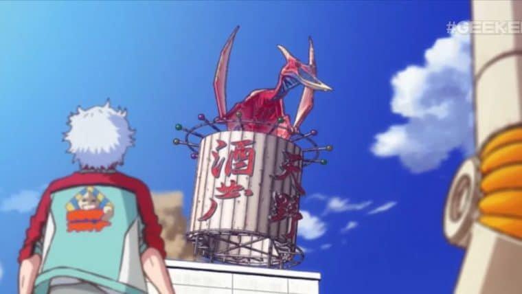 Rodan ataca cidade em cena inédita de Godzilla: Ponto Singular, novo anime da Netflix