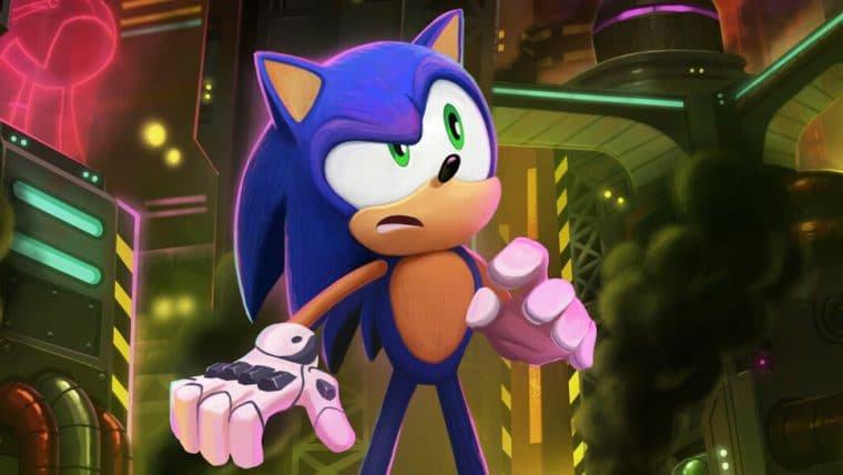 Série Sonic Prime tem artes conceituais publicadas