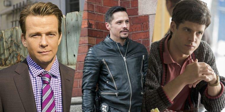 Fotos de Sean Patrick Flannery, Nick Wechsler e Miles Gaston Villanueva (Divulgação/Showtime;Divulgação/NBCUniversal)