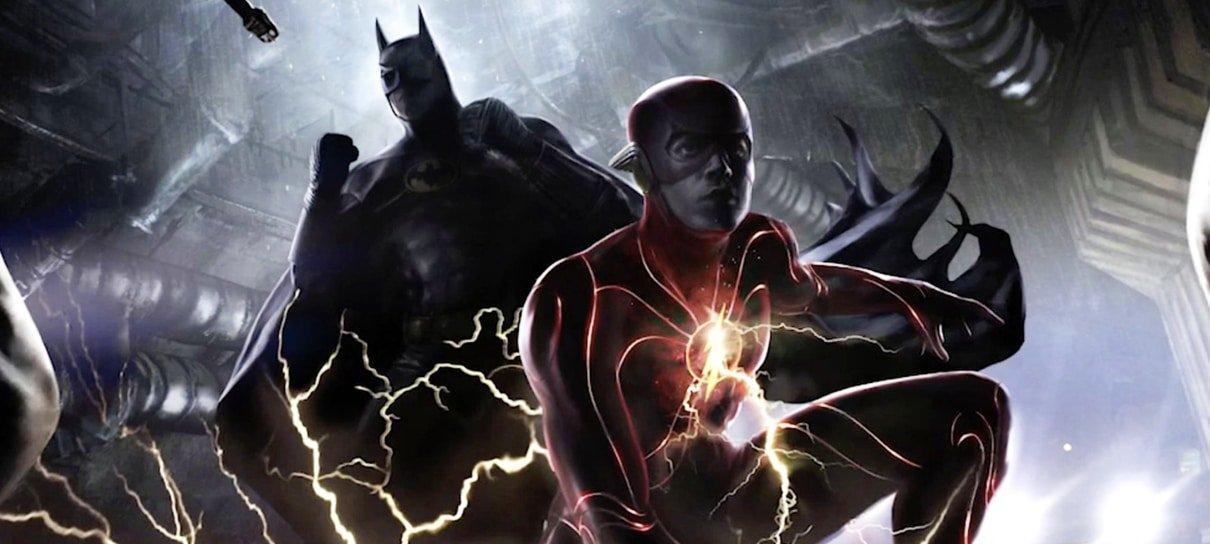 Diretor de The Flash indica destino sangrento para o Batman em foto dos bastidores