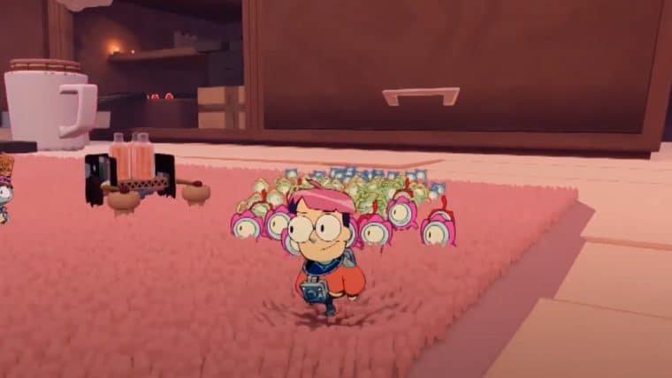 Tinykin traz visual que mistura 2D e 3D; assista ao trailer