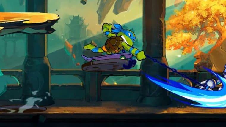 As Tartarugas Ninja chegam a Brawlhalla ainda neste mês