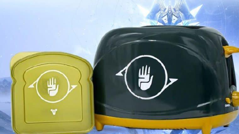 Agora você pode ter uma torradeira de Destiny