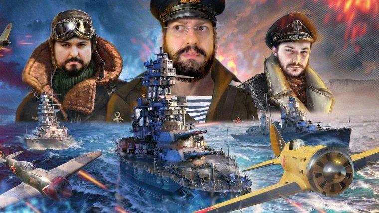 World of Warships - Superioridade aérea