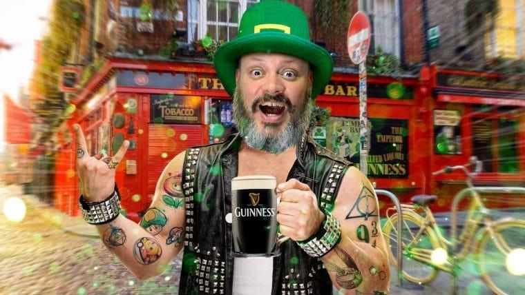 Um punk em Dublin