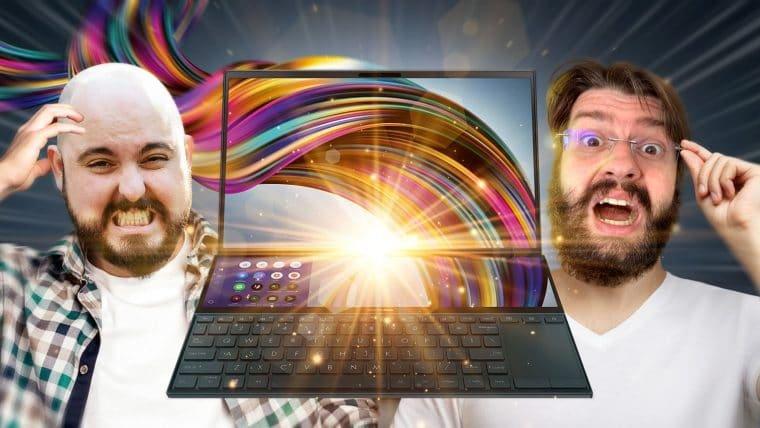 Asus ZenBook Duo 14 UX482, o Notebook office